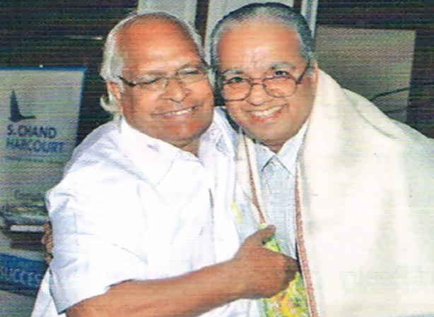 Sh. GP Gupta with Dr. Jose Aikara (Chairman of ICSCE Board)